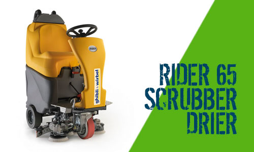 Ghibli Rider 65 Scrubber Dryer Scotland