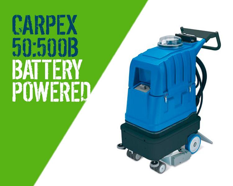 Carpex 50 500b Battery Powered Carpet Amp Upholstery Cleaner