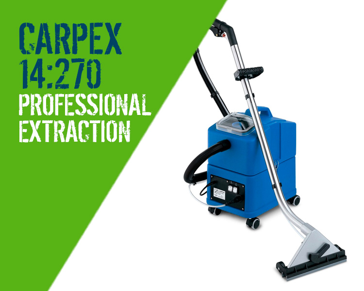 Carpex 14:270 Carpet Upholstery Cleaner Scotland