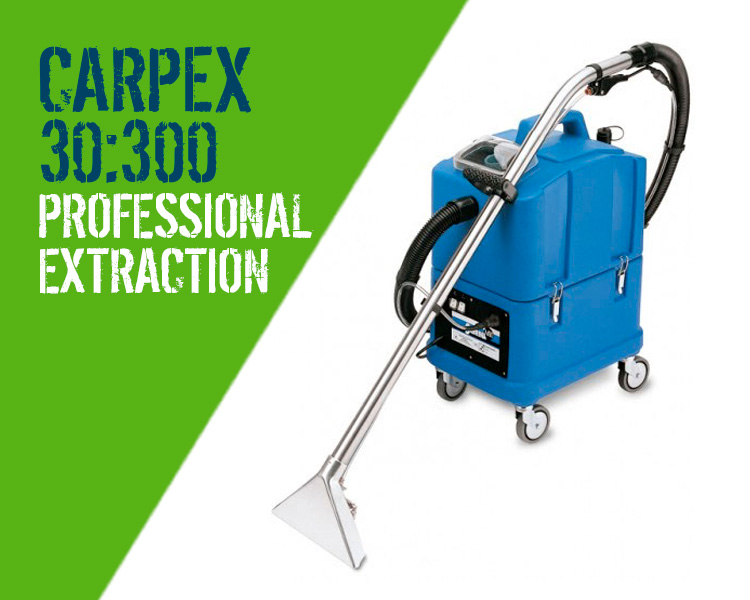 Carpex 30:300 Carpet Upholstery Cleaner Scotland