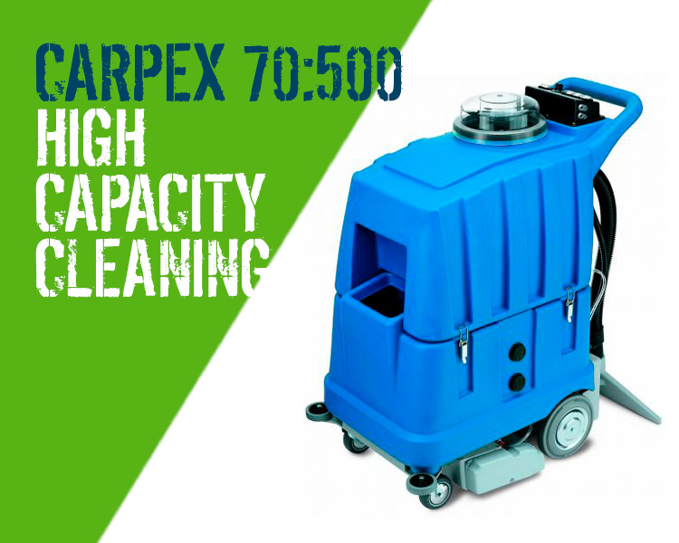 Carpex 70:500 Carpet Upholstery Cleaner Scotland