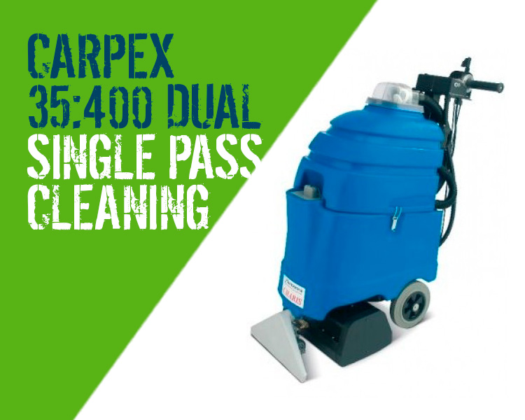 Carpex 35:400 Dual Carpet Upholstery Cleaner Scotland