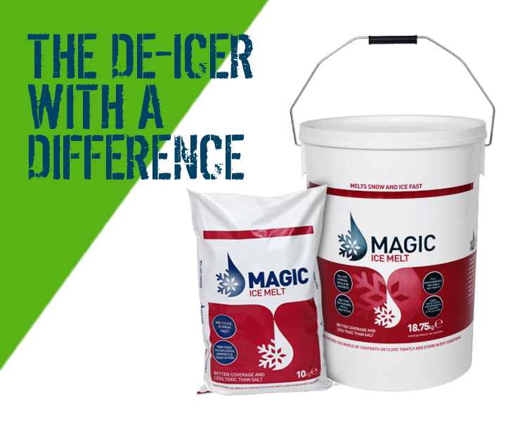 Magic Melt De-Icer Non Toxic Snow and Ice Melt