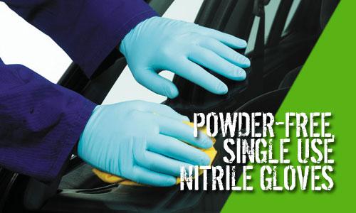 Bodyguards Blue Nitrile Gloves