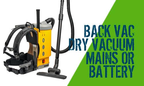 Ghibli T1 Back Vac Dry Vacuum Cleaner