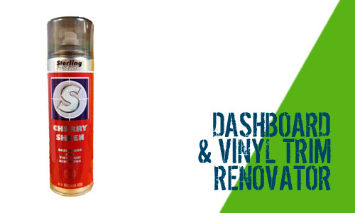 how to clean dashboard vinyl