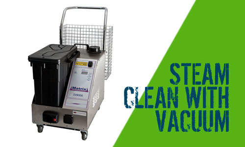 Matrix Steam Cleaner SV8000 With Integrated Vacuum
