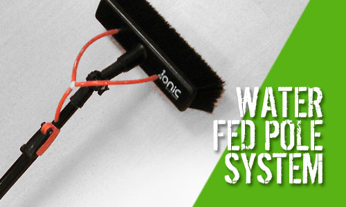 Ionic 9 Mini Pole Water Fed Pole Window Cleaning System