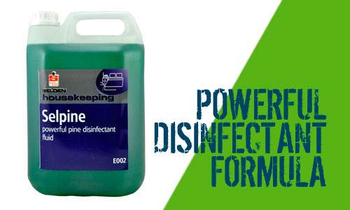 Selpine Anti Bacterial Cleaning Formula Product
