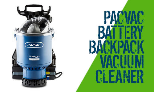 Pacvac Superpro Battery 700 Backpack Vacuum Cleaner
